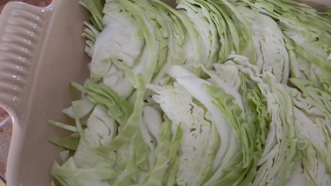 Lots more cabbage!