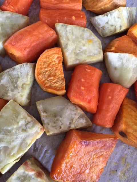 Perfectly roasted veggies